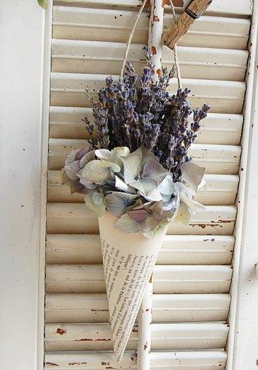 hydrangea and lavender