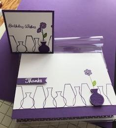 grape varied vases