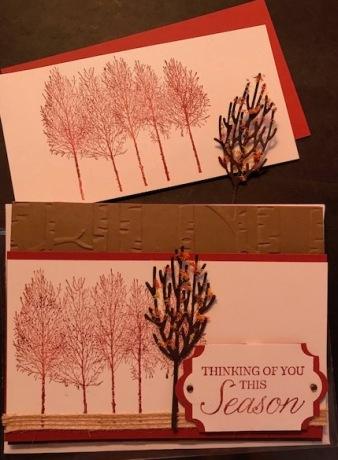 WINTER WOODS SEPT CARD