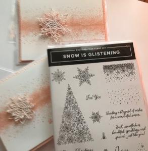 snowblizzard pink cards