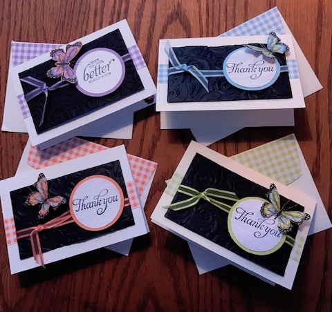 GINGHAM CARDS