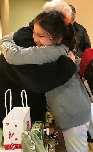 MEERA HUG VALENTINE BAG