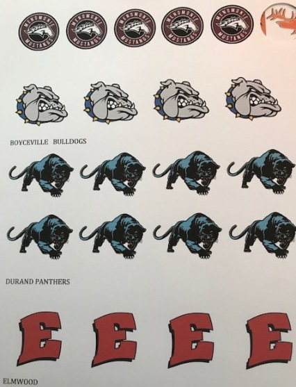 logos menomonie bosycville, etc.