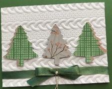 garden green tree trio